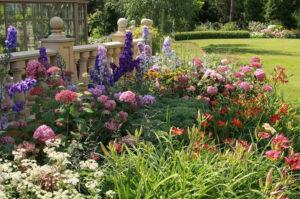 Massif de fleur pour décoration jardin